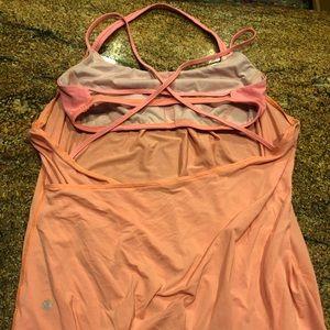 Lululemon size 10 (L) open back yoga tank